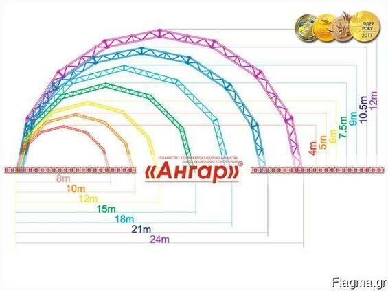 Ангары арочные от изготовителя Завода «Ангар»