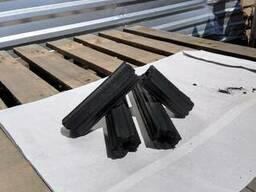 Charcoal briquette hexagonal