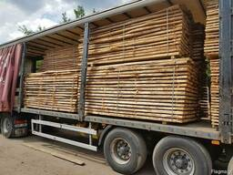 Oak lumber/timber/board unedged, half-edged, edged