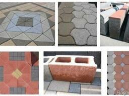 Вибропресс для производства тротуарной плитки, бордюров R30 - фото 7