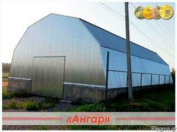 Προκατασκευασμένα τοξωτά υπόστεγα - κατασκευή, εγκατάσταση
