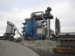 Б/У асфальтный завод Benninghoven ЕСО 300 т/ч с рециклингом