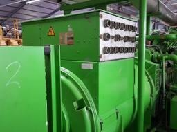 Б/У газовый двигатель Jenbacher 616 GS 02, 1942 Квт, 1999 г.