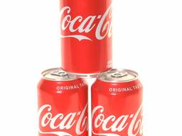 Coca cola drink and other soft drinks available