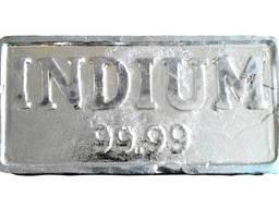 Ράβδοι ινδίου | μέταλλο indium μάρκα InOO GOST 10297-94