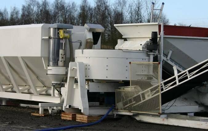 Мобильный бетонный завод Sumab С-15-1200 (20 м3/ч) Швеция