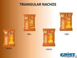 Nachos and salty snacks
