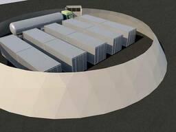 Оборудование по добыче газа из органических отходов