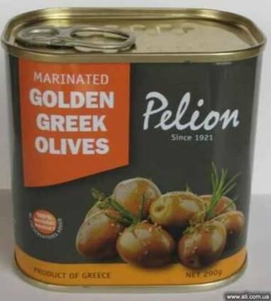 Отборные Греческие оливки маринованные в оливковом масле