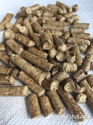 Пеллеты из сосны