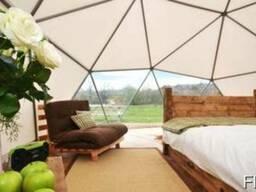 Роскошные шатры на 6 гостей для кемпинга класса люкс