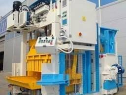 Блок-машина Мобильный для производства бордюров полых блоков