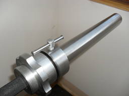 Weight bar for powerlifting and weightlifting - photo 3